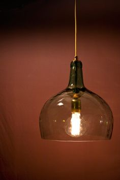 Pacaya Demijohn / Carboy Lamps Upcycled Glass Bottles