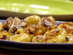 Butter and Parm Squished Potatoes Recipe : Rachael Ray : Food Network - FoodNetwork.com