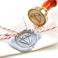 Diamond Wax Seal Stamp Kit - Darby Smart