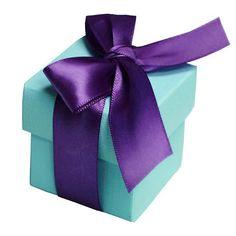 100 Boxes Turquoise 2 pcs Favor Boxes Bridal Shower Party Favor Gift Container