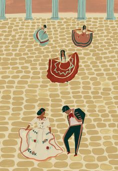 Mexican wedding giclee print by naomiwilkinson on Etsy