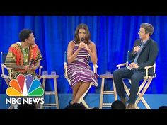 Michelle Obama, Seth Meyers Visit Howard University to Offer Advice to Students - http://cybertimes.co.uk/2016/09/10/michelle-obama-seth-meyers-visit-howard-university-to-offer-advice-to-students-2/