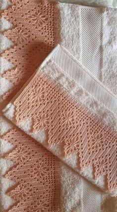 Easiest Crochet Frills Border Ever! Crochet Edging Patterns, Crochet Lace Edging, Crochet Motifs, Crochet Borders, Crochet Squares, Crochet Doilies, Easy Crochet, Free Crochet, Crochet Curtains