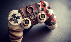 """Custom God of War DualShock 4 Looks Sculpted From Stone """