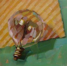 "Daily+Paintworks+-+""Limelight""+-+Original+Fine+Art+for+Sale+-+©+Holly+Storlie"