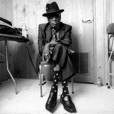 John Lee Hooker fue un cantante y guitarrista de blues estadounidense.