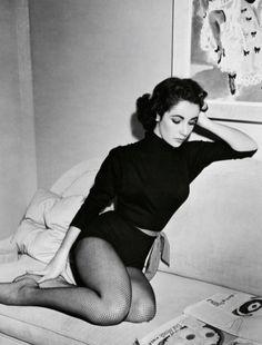 """elizabethrosemondtaylors: """" Elizabeth Taylor on the set of Love Is Better Than Ever (1952) """""""