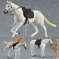 Figma 246b Horse White  Now available instock from: www.figurecentral.com.au  #figma #maxfactory #horse #figurecentral