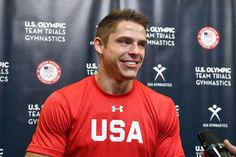 Fall in love with the faces of USA Gymnastics  -      Chris Brooks:    Oh captain, my captain. Aside from being the team's unofficial barber, Chris Brooks was named the leader of the USA men's gymnastics team despite being rookie to the Olympic experience. It's been a long road to the games for Brooks, who is 29 but has competed with the United States since he was 13.  More... Gymnastics Team, Olympic Gymnastics, Olympic Team, Chris Brooks, Male Gymnast, Summer Olympics, Barber, Athletes, Falling In Love