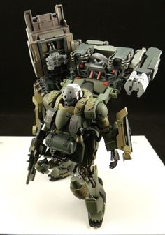 HGUC 1/144 AMS-129F Kaing Zulu - Custom Build by pd02a