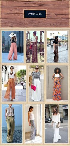Wide Leg Trousers and Palazzo Pants Trends, Resort 2019