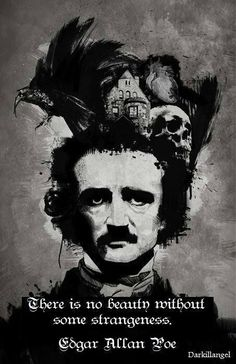★ Mysterious Black ★ There is no Beauty without some Strangeness ...Edgar Allan Poe #strange #edgarallanpoe #quotes https://www.facebook.com/photo.php?fbid=1549723491929192&set=a.1533306316904243.1073741830.100006746689441&type=1&permPage=1