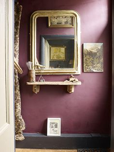 homes a vintage yorkshire home - Farrow And Ball Brinjal