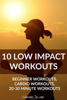 If you are a fitness beginner, on recovery day or simply searching a 20-30 minute workout for the home,you can click through now and check out these 10 low impact workouts - no equipment needed!