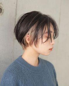 Asian Short Hair, Asian Hair, Girl Short Hair, Short Hair Cuts, Japanese Short Hair, Ulzzang Short Hair, Short Punk Hair, Edgy Hair, Funky Hairstyles
