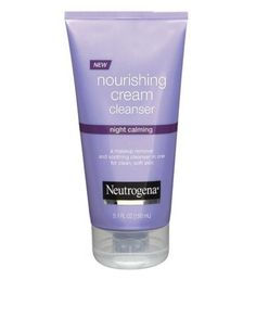 I'm learning all about Neutrogena Night Calming Nourishing Cream Cleanser at Oily Skin Treatment, Anti Aging Night Cream, Acne Face Mask, Neutrogena, Dermalogica, Nude Makeup, Hormonal Acne, Beauty Must Haves, Damp Hair Styles