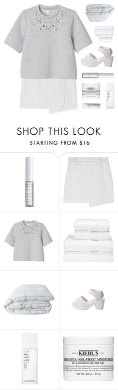 """""""going mad in the middle of a dream"""" by kristen-gregory-sexy-sports-babe ❤ liked on Polyvore featuring Lord & Berry, Monki, Christy, Soft-Tex, NARS Cosmetics, Kiehl's and Shiseido"""