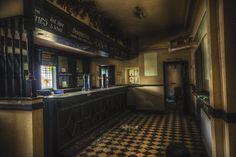 Ormskirk ropers arms pub abandoned bar (now demolished) Lancashire uk