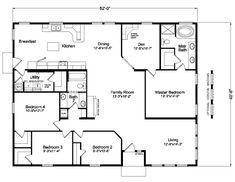 The MT. Adams 5V452E9 Home Floor Plan | Manufactured and/or Modular Floor Plans available Idaho, Montana, Northern California, Oregon and Washington floor plan