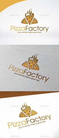 Pizza Factory Logo Template,bistro, branding, bread, cheese, chef, cooking, culinary logo, eat food, eating place, fast food, food delivery, forno, gourmet, industry identity, italian food, logotype, oven, pizza, pizzeria, professional service, recipes, restaurant, spaghetti, stock, take away, tomato, traditional, unique, vector logo