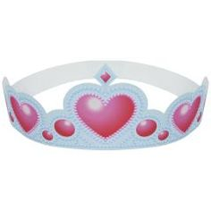 this simple paper crown and paper tiara Paper Craft can make kids and children really happy when they want to play. Diy Party Hats, Craft Party, Diy Paper, Paper Crafts, Heart Template, Party Activities, Princesas Disney, Paper Toys, How To Make Paper