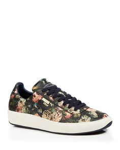 PUMA Lace Up Sneakers - House of Hackney x PUMA Rose Print | Bloomingdale's