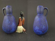 Vintage Keramik Vase / Heyne (Hoy / Hey)   West German Pottery   70er von ShabbRockRepublic auf Etsy