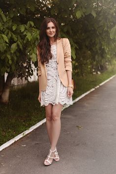 To find out about the White Short Sleeve Embroidery Sheer Lace Dress at SHEIN, part of our latest Dresses ready to shop online today! Sheer Lace Dress, Lace Sheath Dress, Cute White Dress, White Lace, Dress Outfits, Dress Up, Fashion Outfits, Fashion Ideas, Womens Fashion