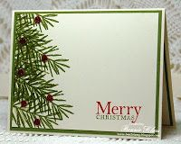 Merry Monday Christmas Card Challenge