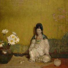 "hovsep pushman   Hovsep PUSHMAN American (1877-1966) ""Daisies"" photo pushman_daisies_lg ..."