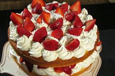 "TLC Cooking ""Buddy's Strawberry Shortcake"" I wonder what this would look like if I tried to make it."