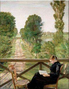 Arte Lê  Christian Krohg, 1852-1925 - Villa Britannia, 1885  (JA, Mai17)