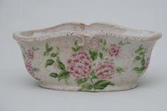 Cachepot ceramica decorado