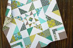 Triple Barnstar Quilt Pattern by Stitchery Dickory Dock