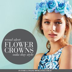 Trend Alert - Floral Crowns