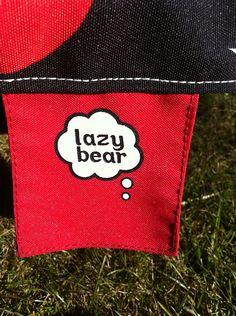 Ons eigen merk lounge kussens..heerlijk loungen als een luie beer...