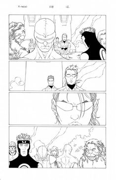 I MIEI SOGNI D'ANARCHIA - Calabria Anarchica: X-Men Issue 178 Page 12  Artists: Salvador Larocca...