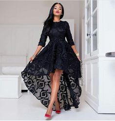 'Tie your gele in 2 easy steps', The first ever ready-made pleated gele by Yinka Thomas-Ogboja Hi Low Dresses, Ball Dresses, Elegant Dresses, Beautiful Dresses, Evening Dresses, Casual Dresses, Short Dresses, Fashion Dresses, Formal Dresses