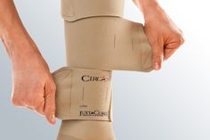 Juxta CURES offers measurable, adjustable, consistent pressure to heal your leg ulcer.