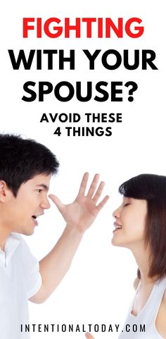 Do you feel like the enemy whenever you bring up areas of concern with your spouse? Perhaps you can't talk about problems without triggering each other and escalating tensions? Here are 4 things you must avoid if you want to solve marriage problems and be happy again #marriageadvice #newlywedadvice #marriage #intentionaltoday #triggered #godlymarriage #conflictinmarrige #conflictresolution