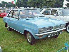 Vauxhall Viva HC (1970-78) Engine 1256cc Production 549,288 (All HC Saloons)Image by Robert Knight.