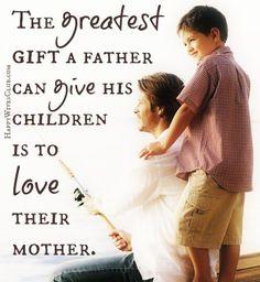 Best gift to his children