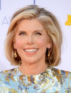 Great Hairstyles for Women in Their 60s: Christine Baranski (1952)