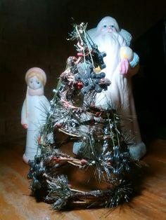 Small Christmas tree. Kharkiv, Ukraine