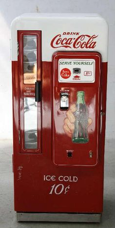- Coca Cola - Idea of Coca Cola Coke Machine, Soda Vending Machine, Vending Machines, Arcade, Coca Cola Decor, Soda Machines, Always Coca Cola, World Of Coca Cola, Vintage Coke