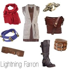 "Claire ""Lightning"" Farron outfit"