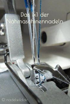 Alles über #Nähmaschinennadeln. Welche Nadeln gibt es, für welche Stoffe sind sie geeignet, wie kann man sie unterscheiden. | nadelwild.de