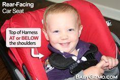 Child Passenger Safety Week Day 4 – Rear-Facing Harness Position (GIVEAWAY)