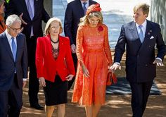 King  Willem-Alexander and Queen Maxima met with Australia's Prime Minister Malcolm Turnbull and his wife Lucy.   2-11-2016