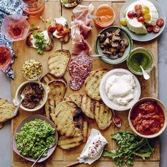 Bruschetta Bar-ing // What's Gaby Cooking. Find this #recipe plus 30+ more recipes on our Grilled Feed https://feedfeed.info/grilled?img=392263  #feedfeed